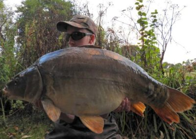 31lb 14oz Mirror - Dove Lake