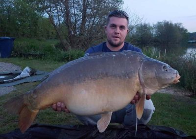 36lb 8oz Mirror - Specimen Lake