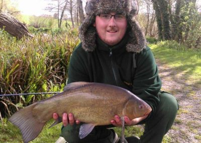 7lb 8oz Tench - Dove Lake
