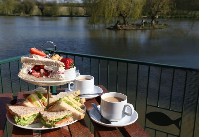 Afternoon High Tea at Hawkhurst Fish Farm