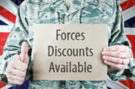 Forces Discount Available