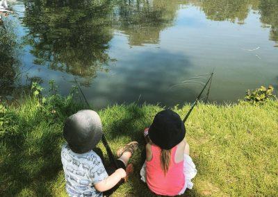 Junior Lake fun fishing