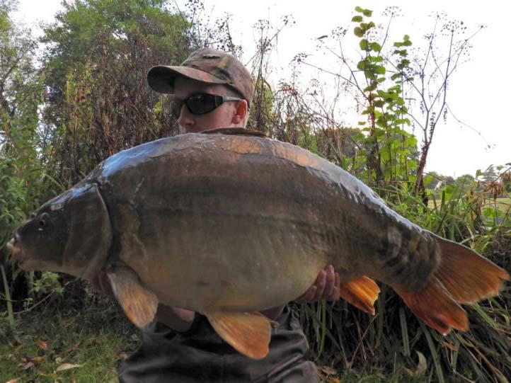 31lb 14oz Mirror - Dove Lake