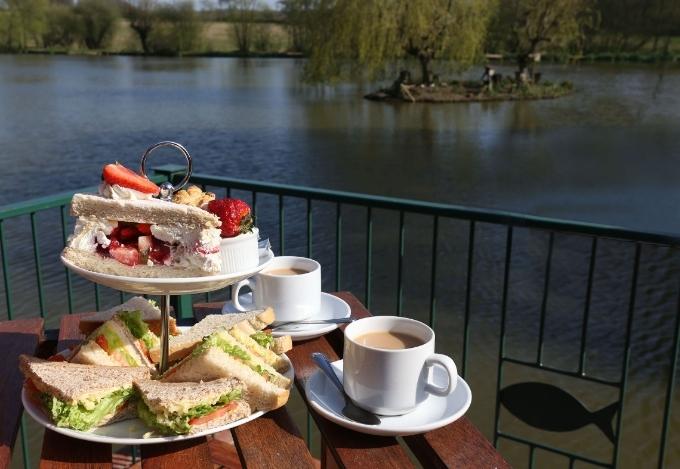 Afternoon High Tea at Hawkhurst Fish Farm