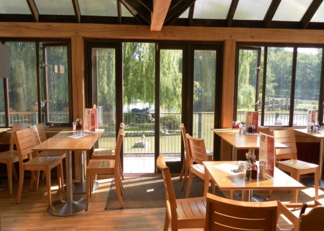 Waterside Cafe Conservatory