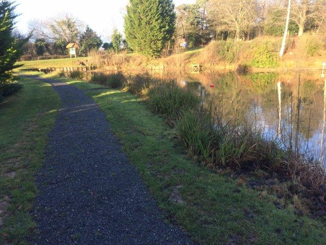 Gravel Path along Four Trees Lake